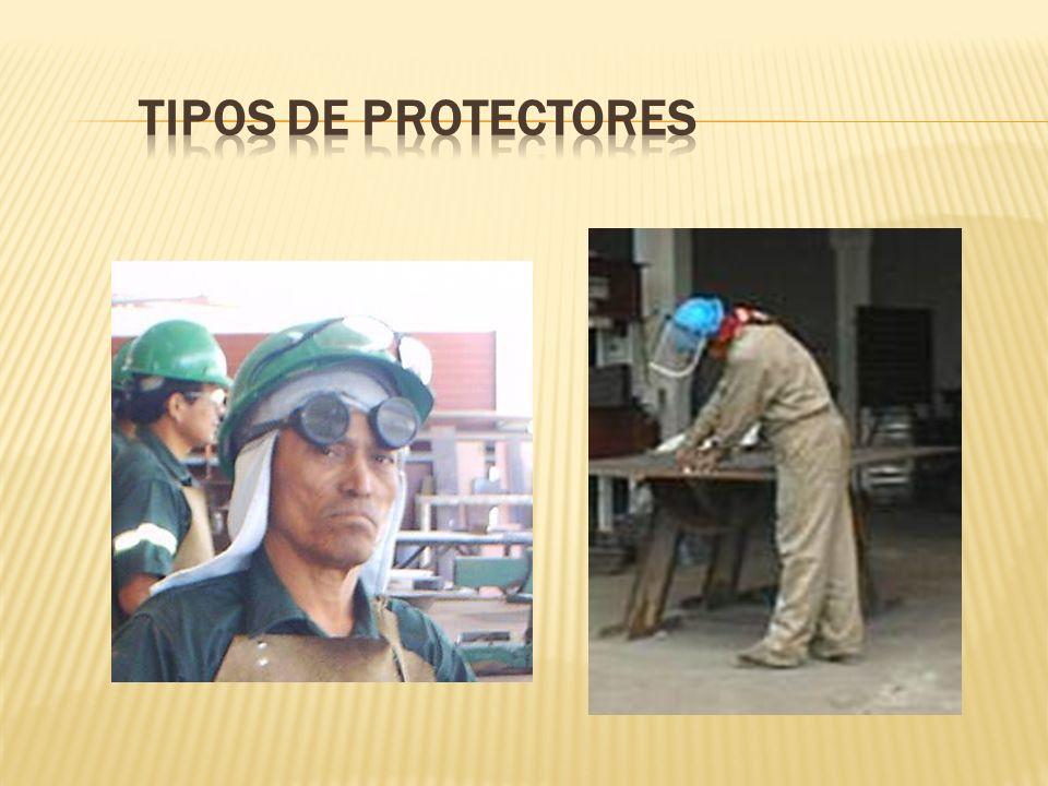 TIPOS DE PROTECTORES