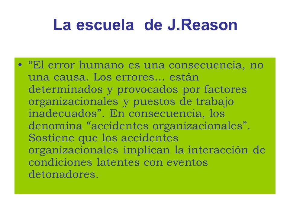La escuela de J.Reason