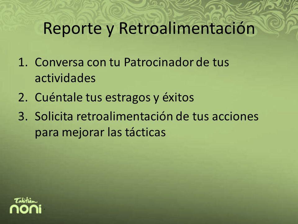 Reporte y Retroalimentación