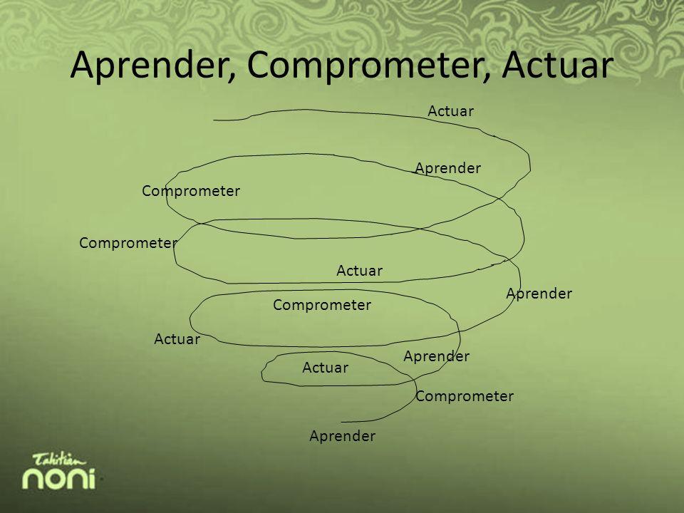 Aprender, Comprometer, Actuar