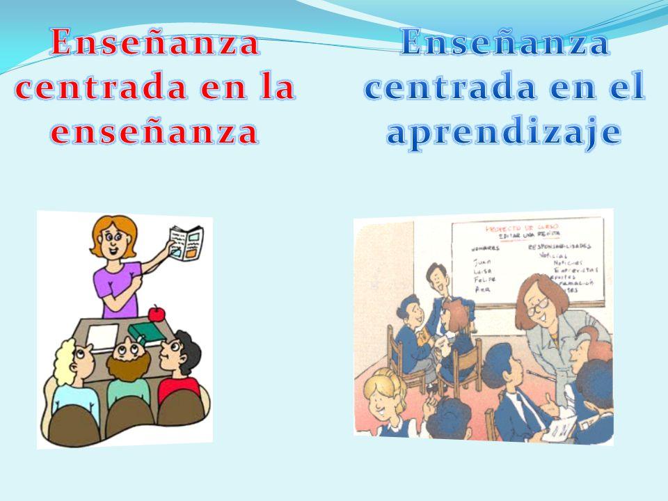 Enseñanza centrada en la enseñanza