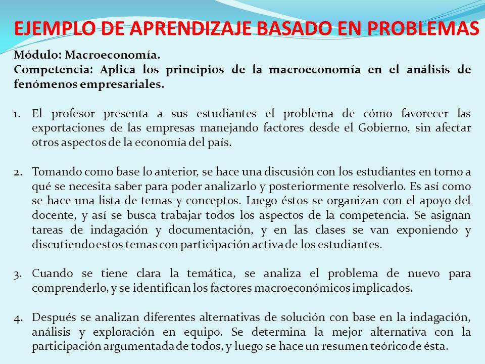 EJEMPLO DE APRENDIZAJE BASADO EN PROBLEMAS