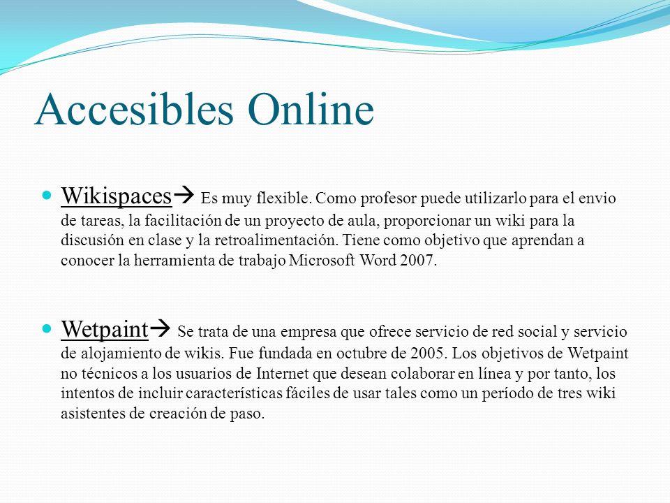 Accesibles Online