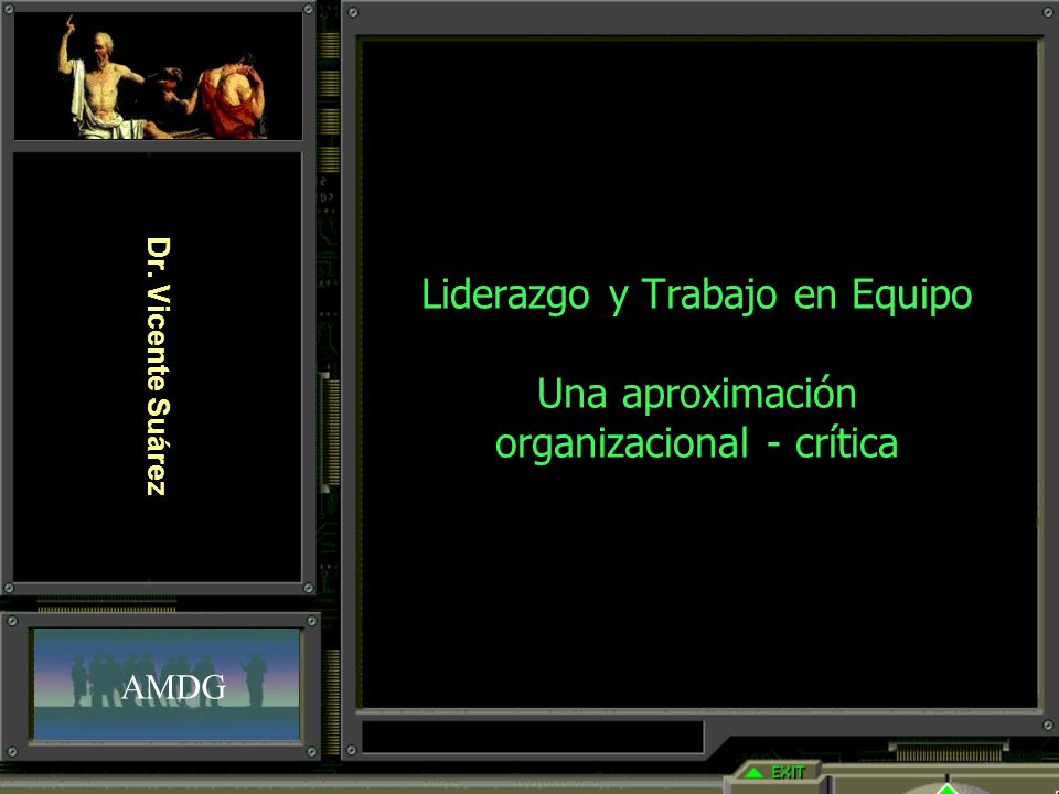 Liderazgo y Trabajo en Equipo Una aproximación organizacional - crítica