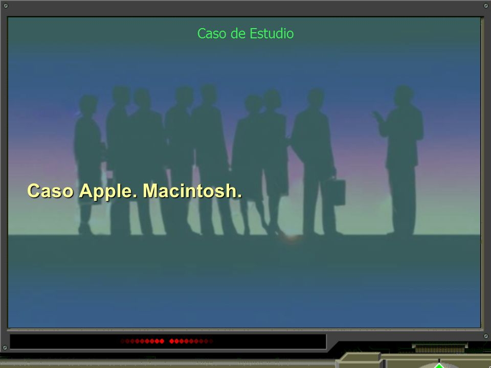 Caso de Estudio Caso Apple. Macintosh.