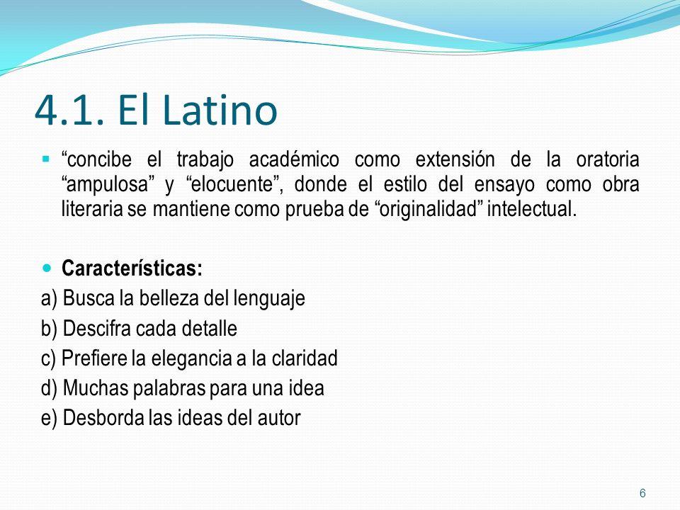 4.1. El Latino