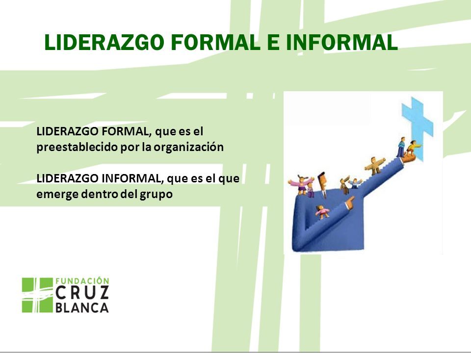 LIDERAZGO FORMAL E INFORMAL