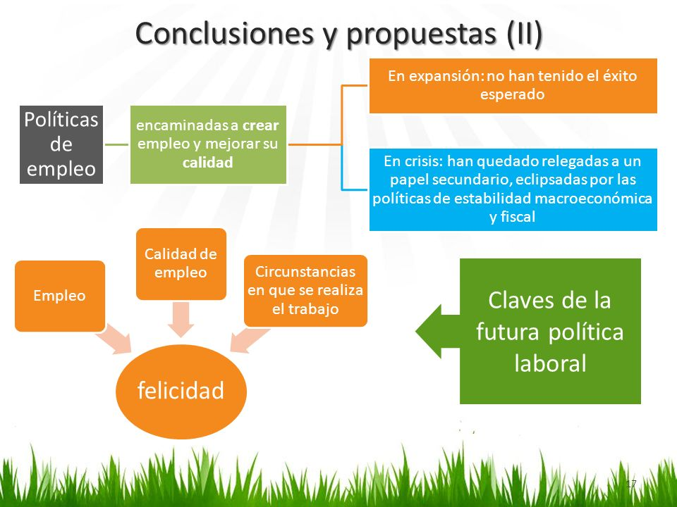 Conclusiones y propuestas (II)