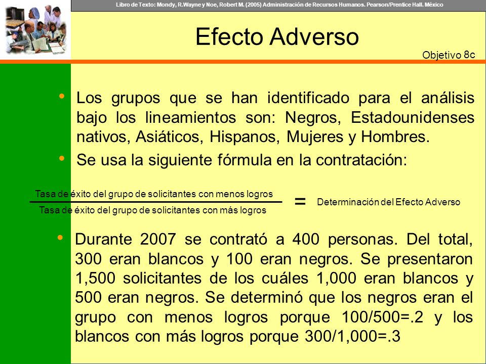 Determinación del Efecto Adverso