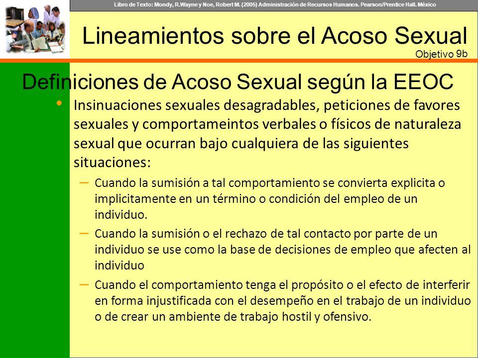 Lineamientos sobre el Acoso Sexual
