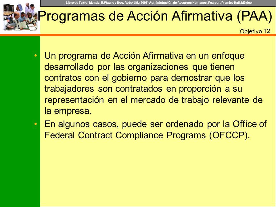 Programas de Acción Afirmativa (PAA)