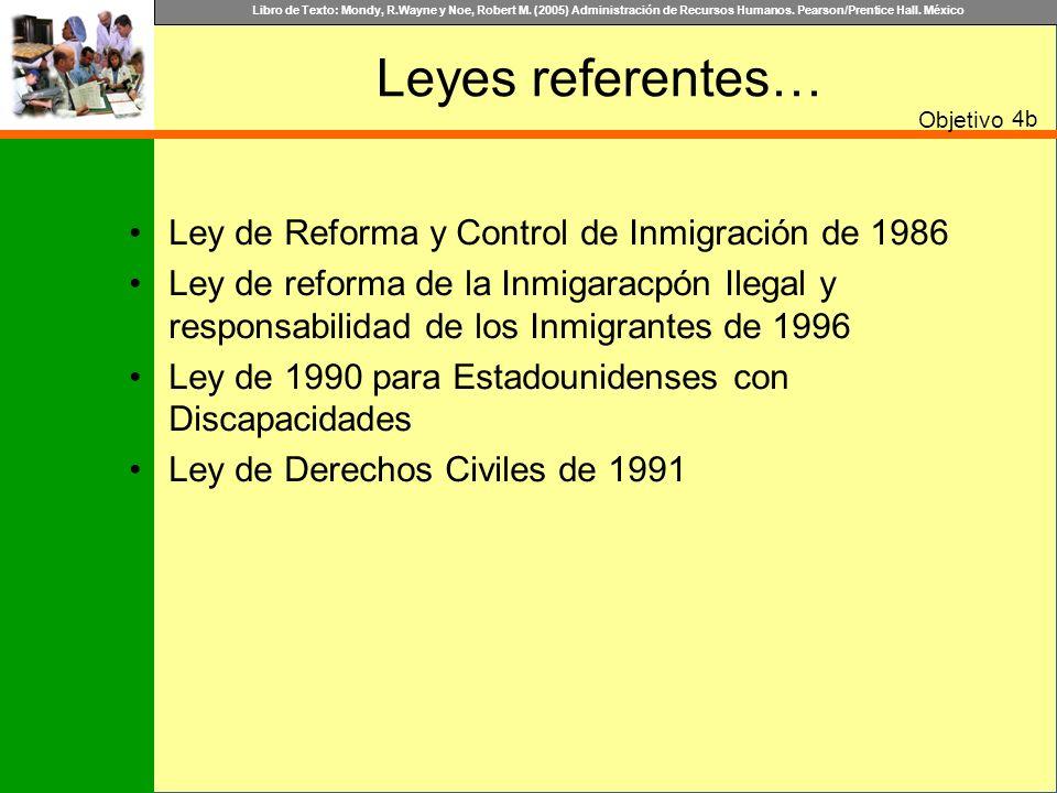 Leyes referentes… Ley de Reforma y Control de Inmigración de 1986