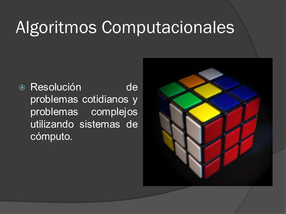 Algoritmos Computacionales