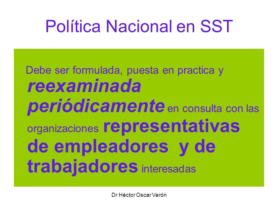 Política Nacional en SST