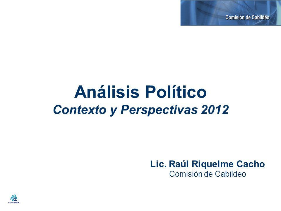 Análisis Político Contexto y Perspectivas 2012