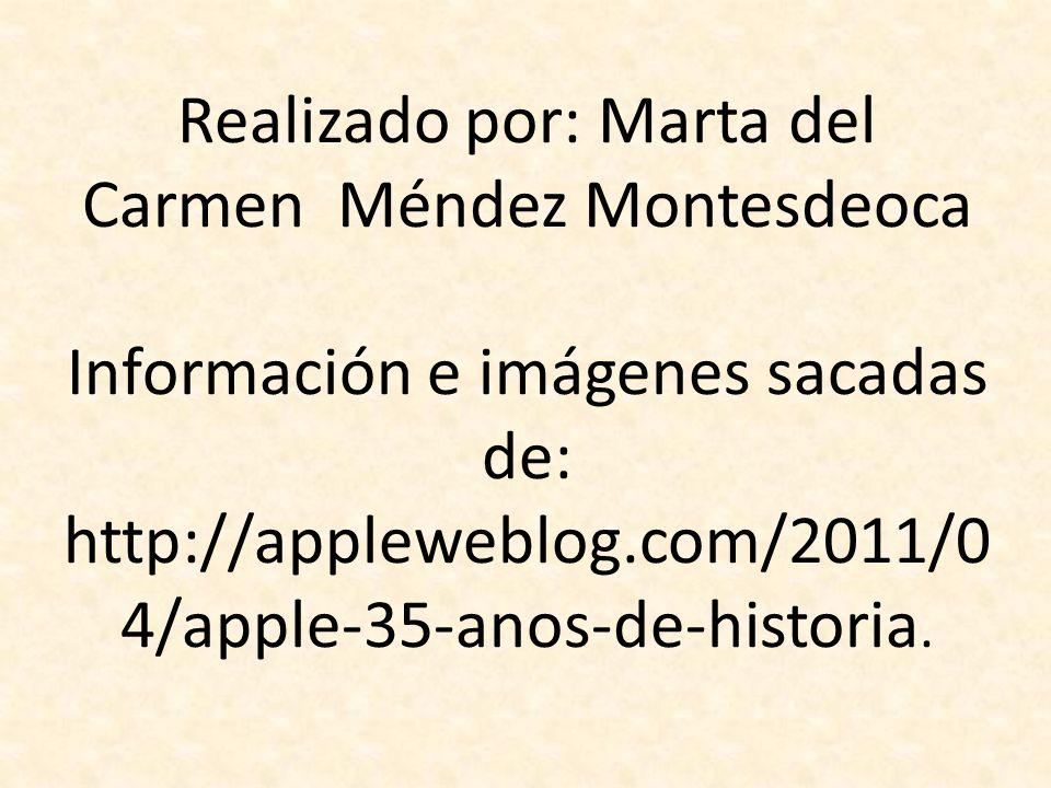 Realizado por: Marta del Carmen Méndez Montesdeoca