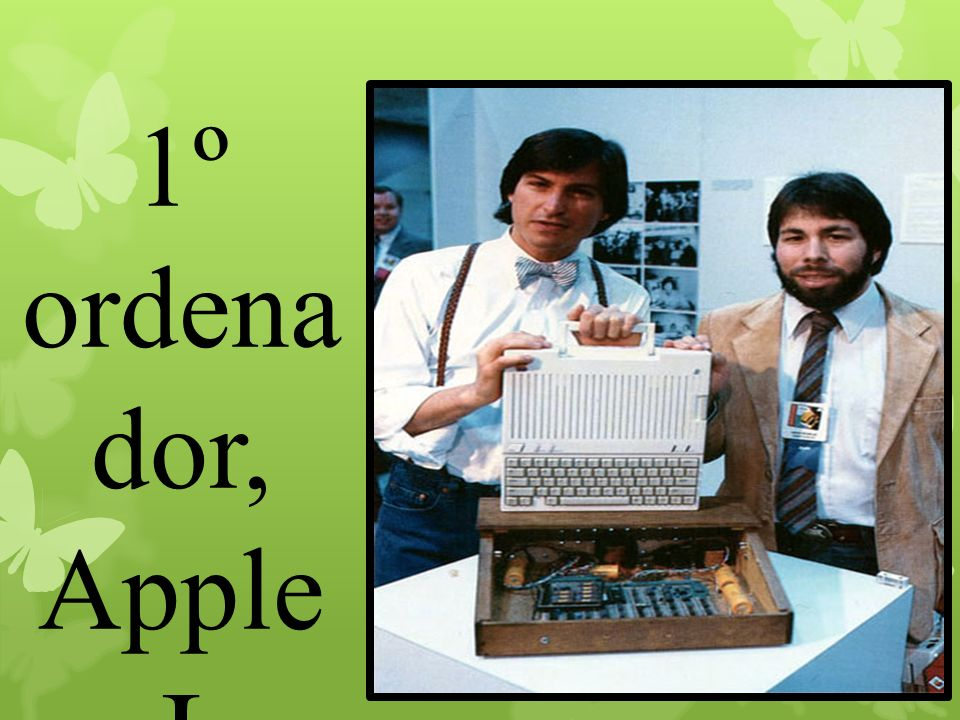 1º ordenador, Apple I