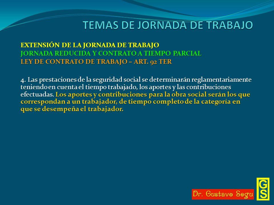 TEMAS DE JORNADA DE TRABAJO
