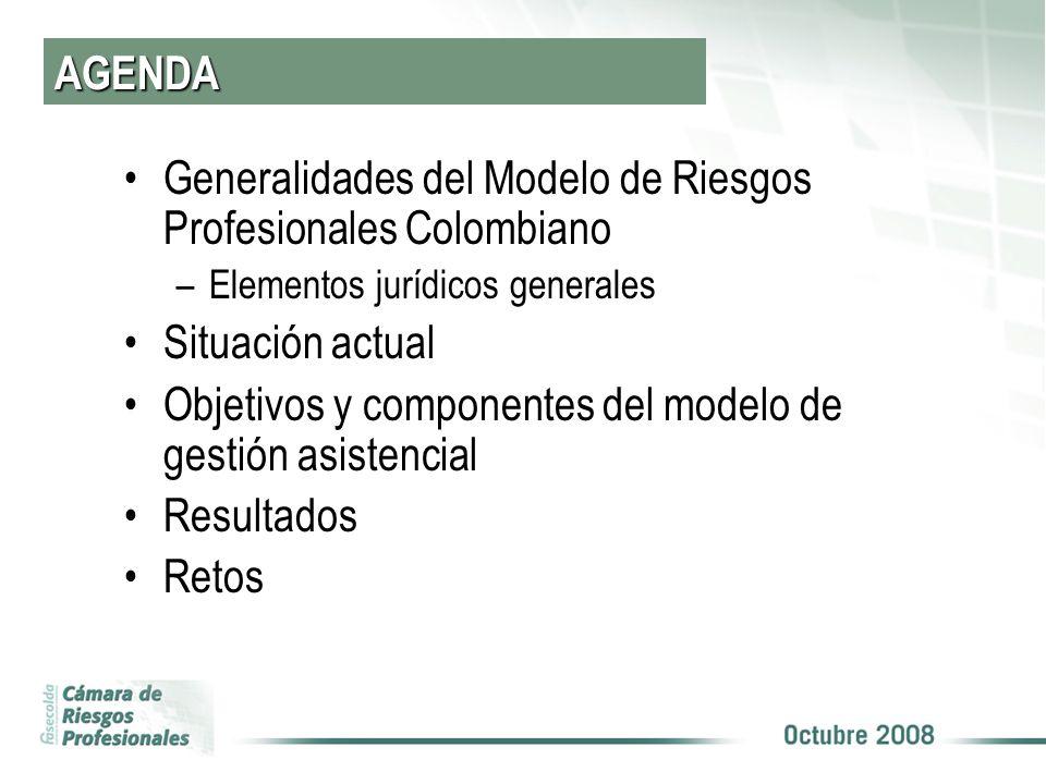 Generalidades del Modelo de Riesgos Profesionales Colombiano