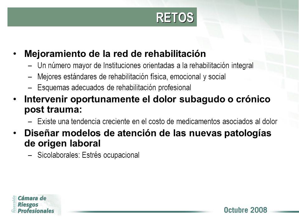 RETOS Mejoramiento de la red de rehabilitación