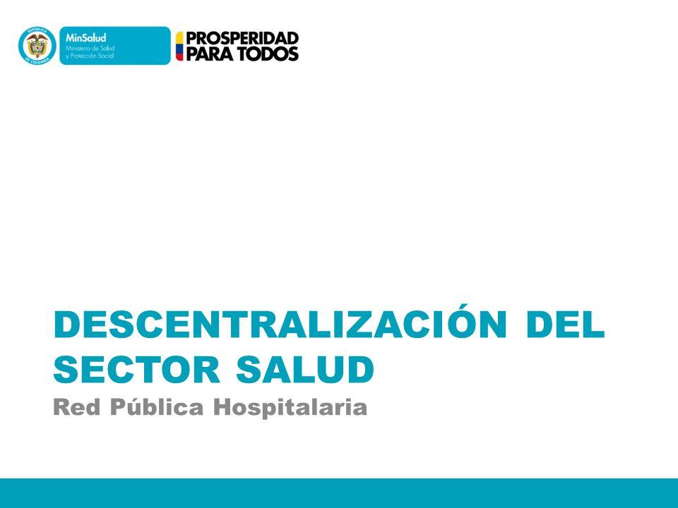 Descentralización del Sector Salud