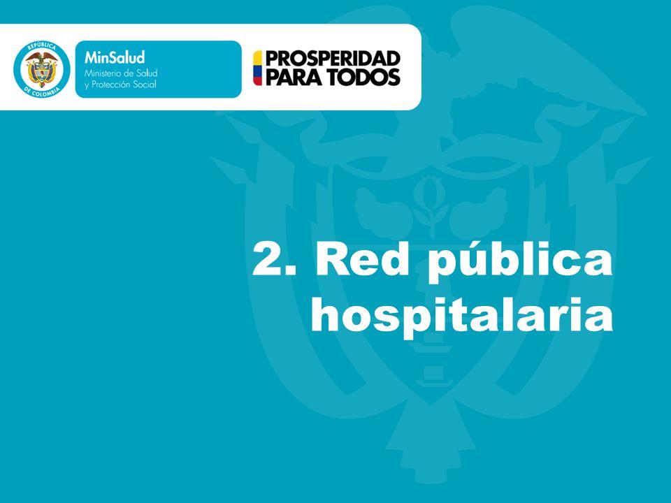 2. Red pública hospitalaria