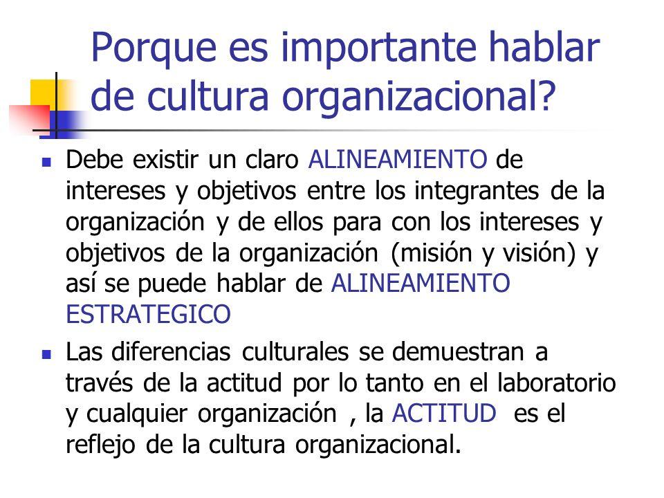 Porque es importante hablar de cultura organizacional