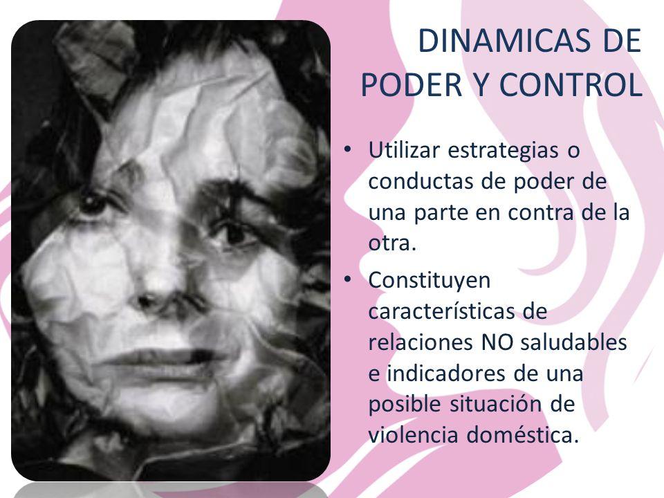 DINAMICAS DE PODER Y CONTROL
