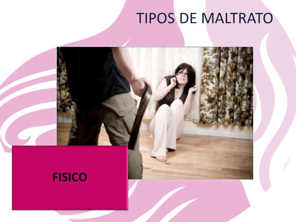 TIPOS DE MALTRATO FISICO
