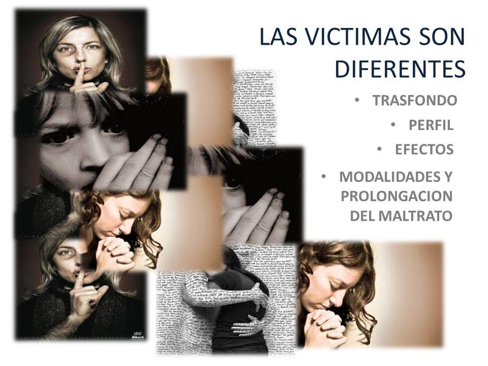 LAS VICTIMAS SON DIFERENTES