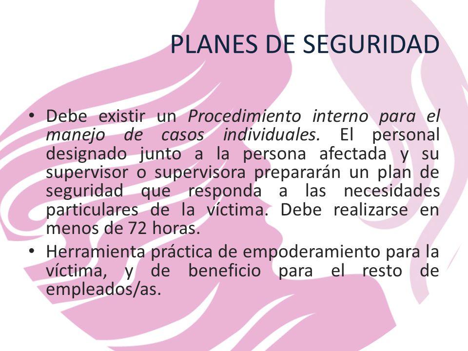 PLANES DE SEGURIDAD