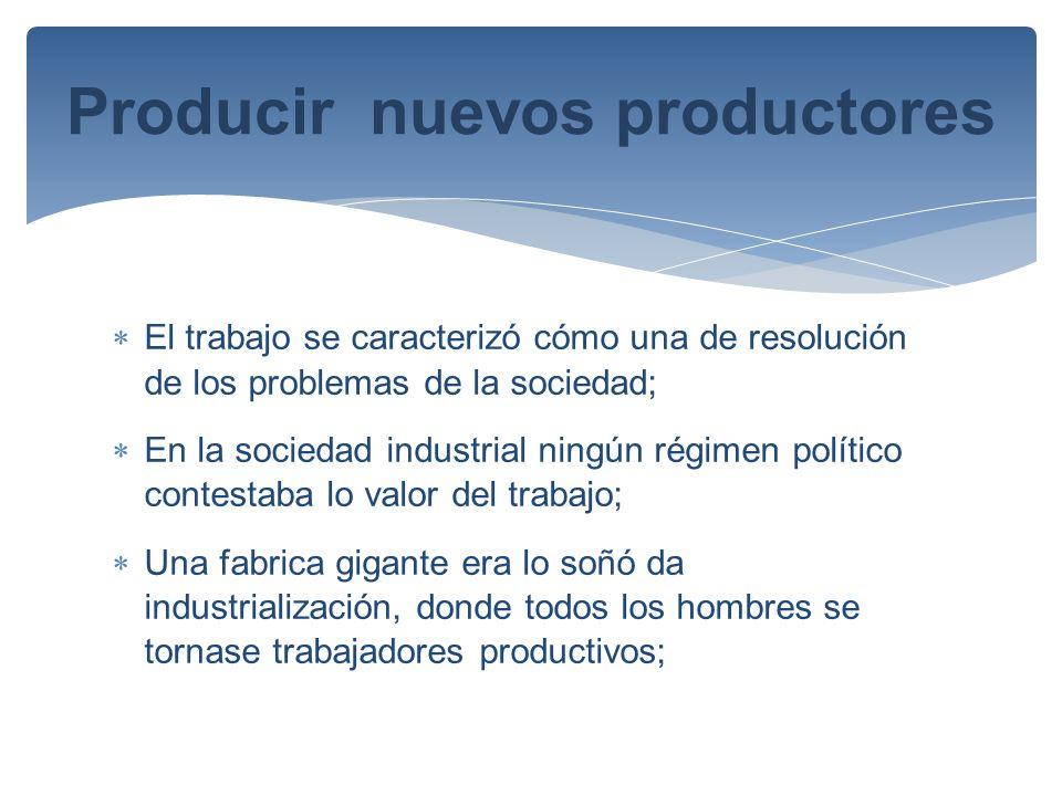 Producir nuevos productores