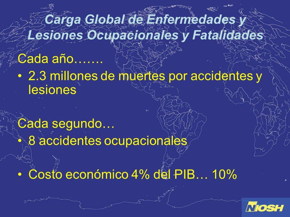 Carga Global de Enfermedades y Lesiones Ocupacionales y Fatalidades