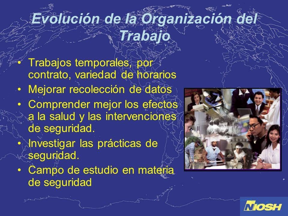 Evolución de la Organización del Trabajo