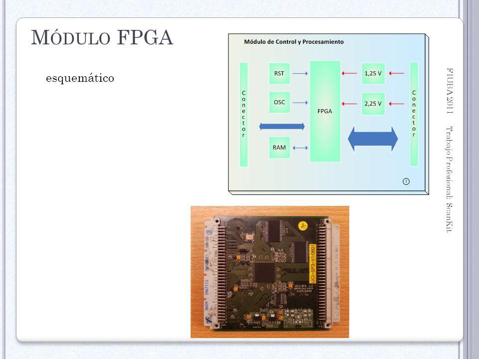 Módulo FPGA FIUBA 2011 esquemático Trabajo Profesional: ScanKit