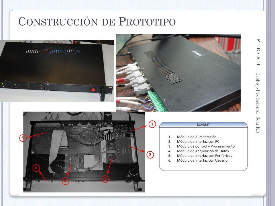 Construcción de Prototipo