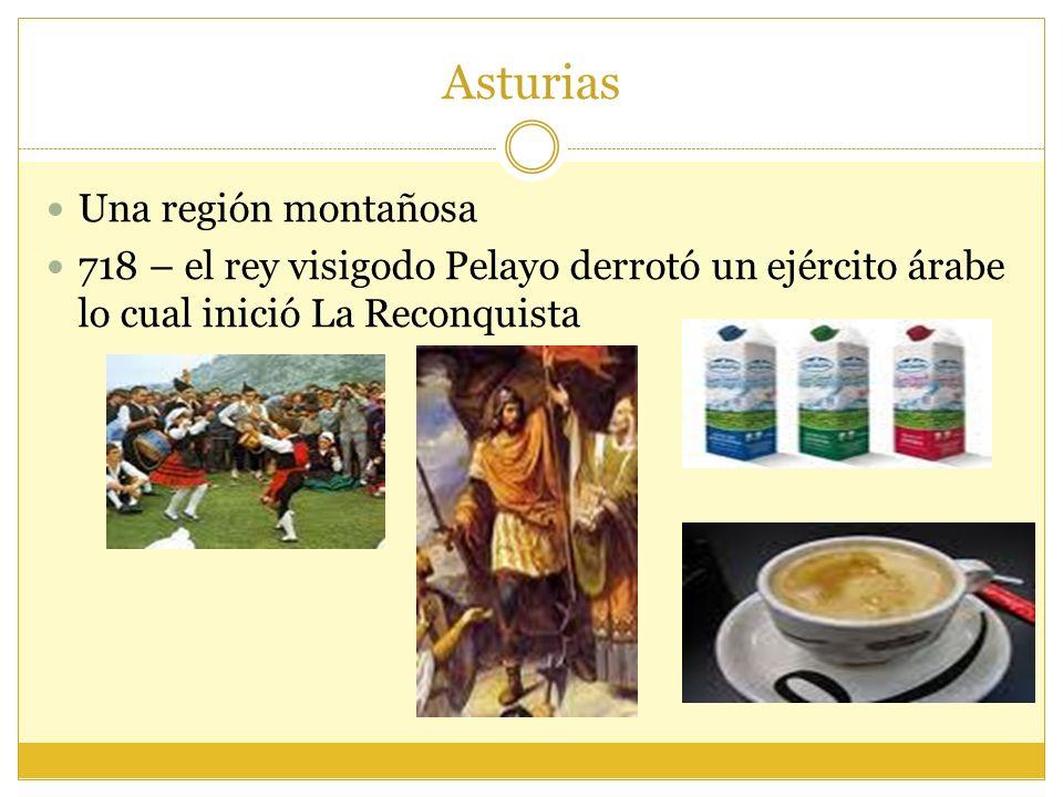 Asturias Una región montañosa