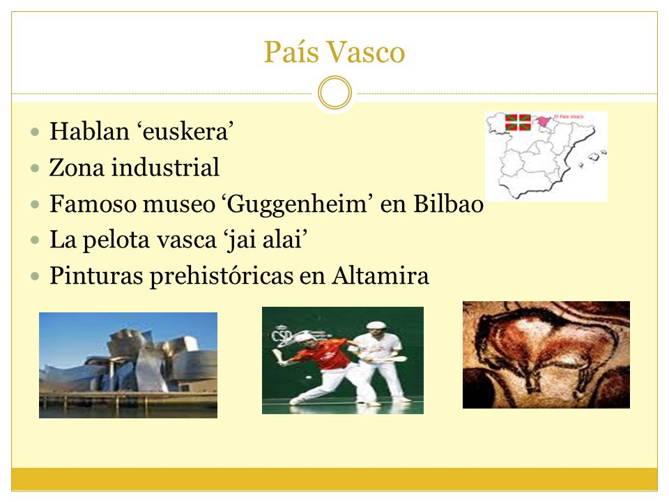 País Vasco Hablan 'euskera' Zona industrial