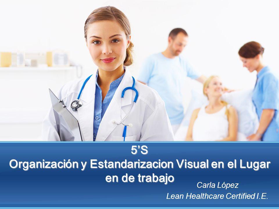 5'S Organización y Estandarizacion Visual en el Lugar en de trabajo