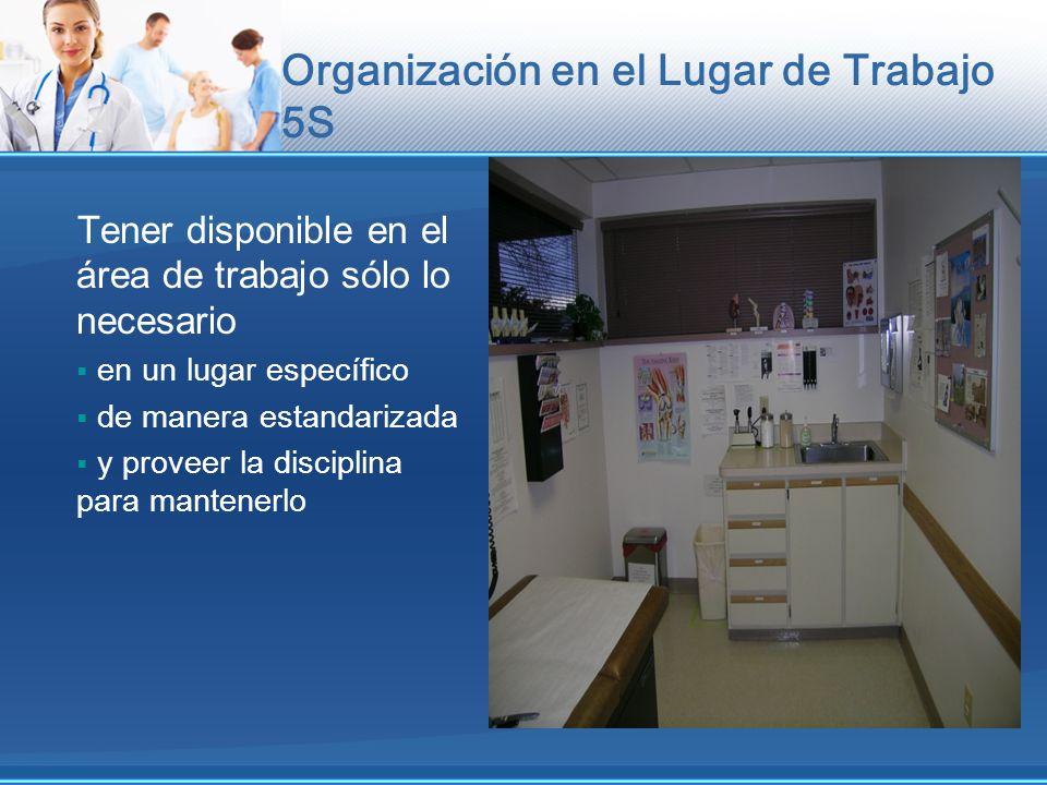 Organización en el Lugar de Trabajo 5S