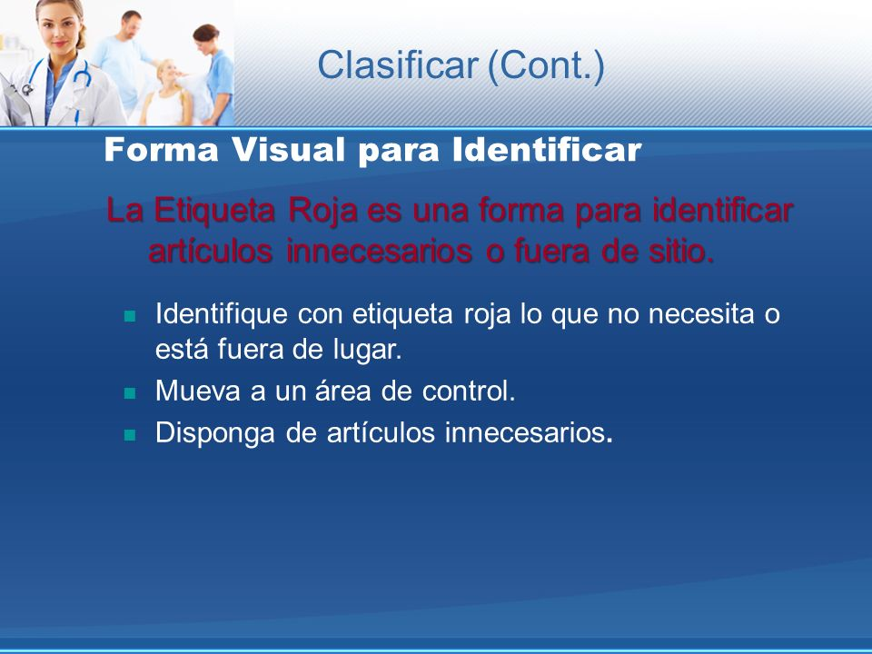 Forma Visual para Identificar
