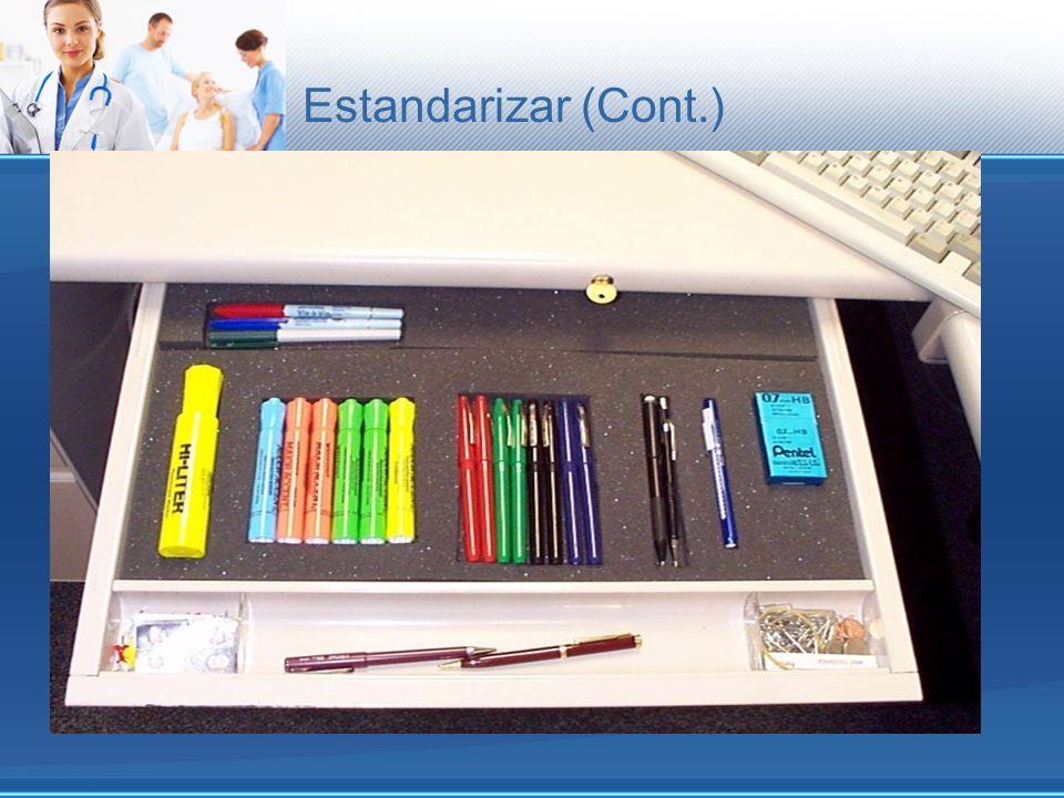 Estandarizar (Cont.)