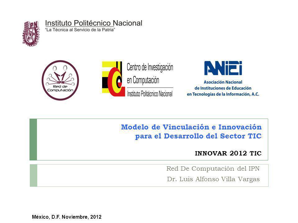 Red De Computación del IPN Dr. Luis Alfonso Villa Vargas