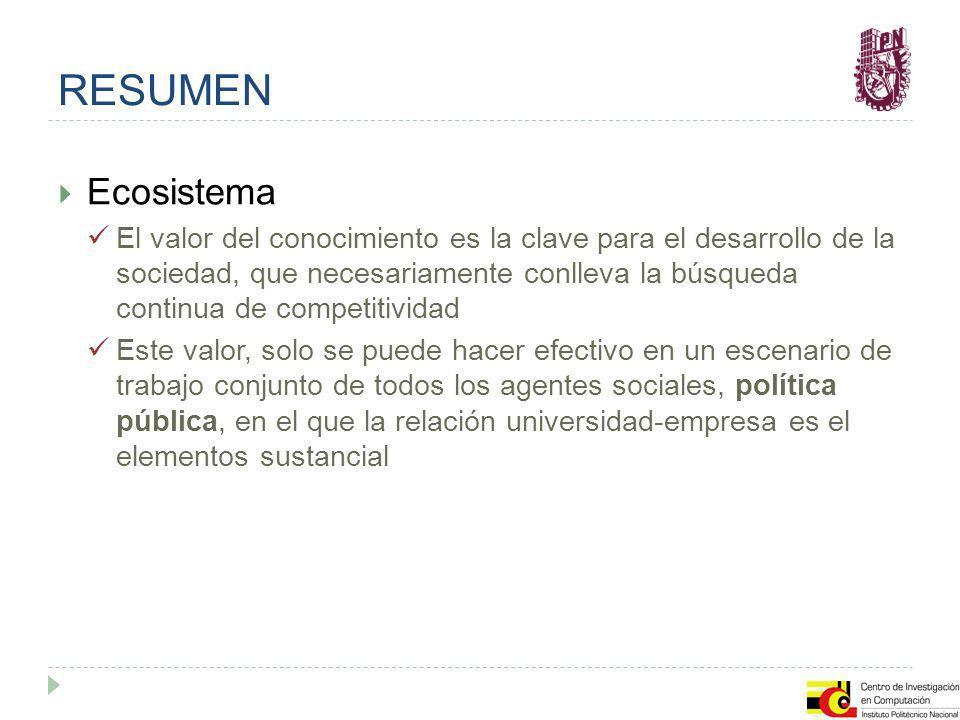 RESUMEN Ecosistema.