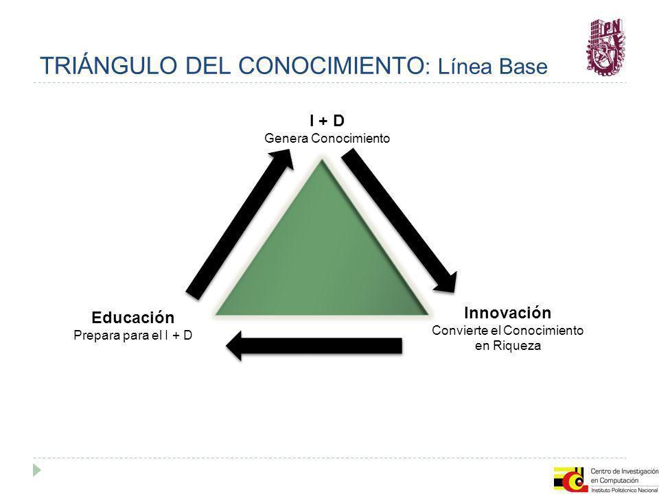 TRIÁNGULO DEL CONOCIMIENTO: Línea Base