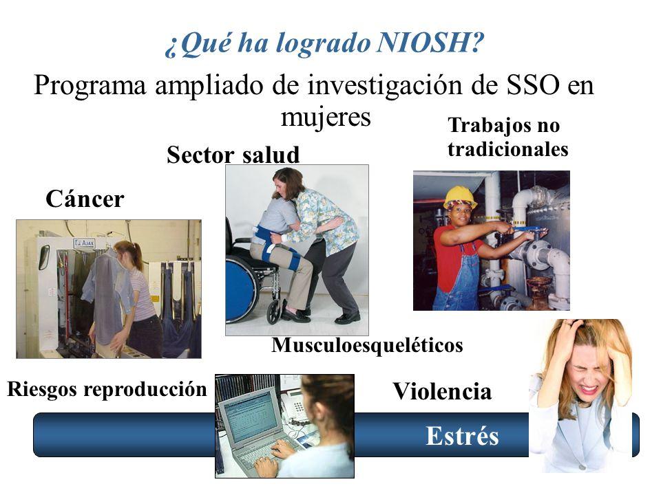 Programa ampliado de investigación de SSO en mujeres