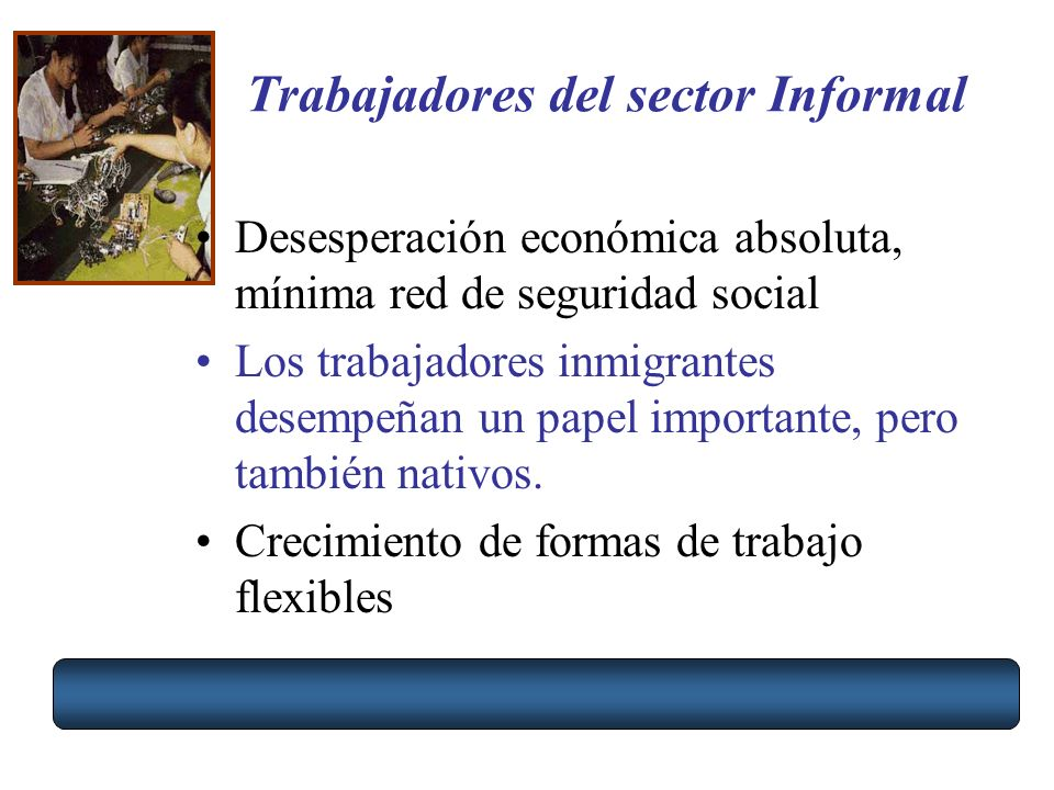 Trabajadores del sector Informal