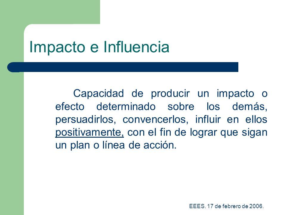 Impacto e Influencia