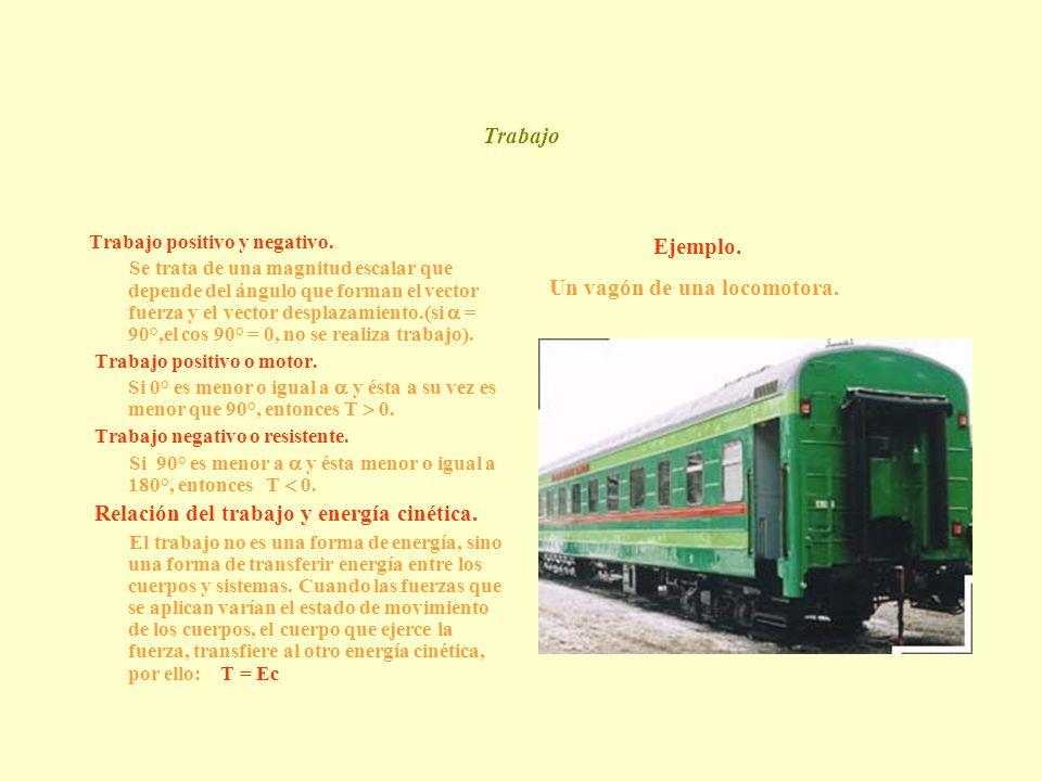 Un vagón de una locomotora.
