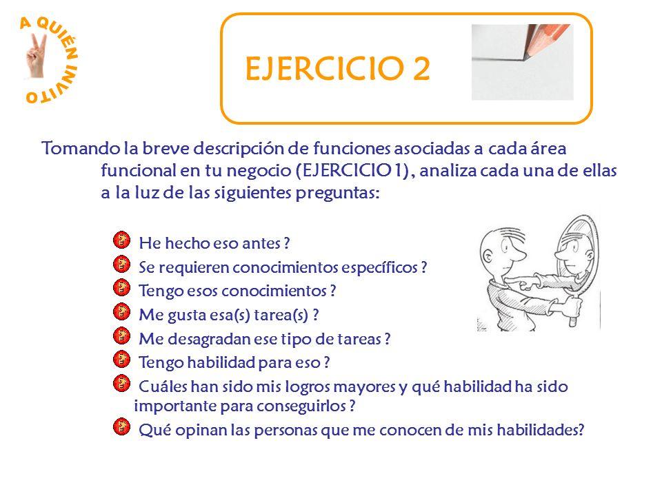 A QUIÉN INVITO EJERCICIO 2.